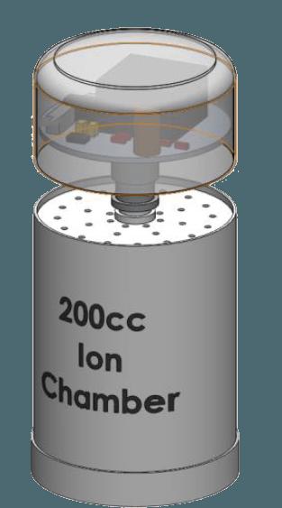 Radon-Sensor-Ion-Chamber